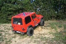 La mia Jeep Wrangler YJ