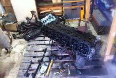 Disassembling the engine