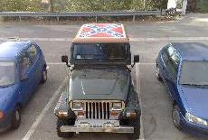 The flag on the Hard Top