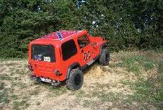 Jeep Wrangler General Lee
